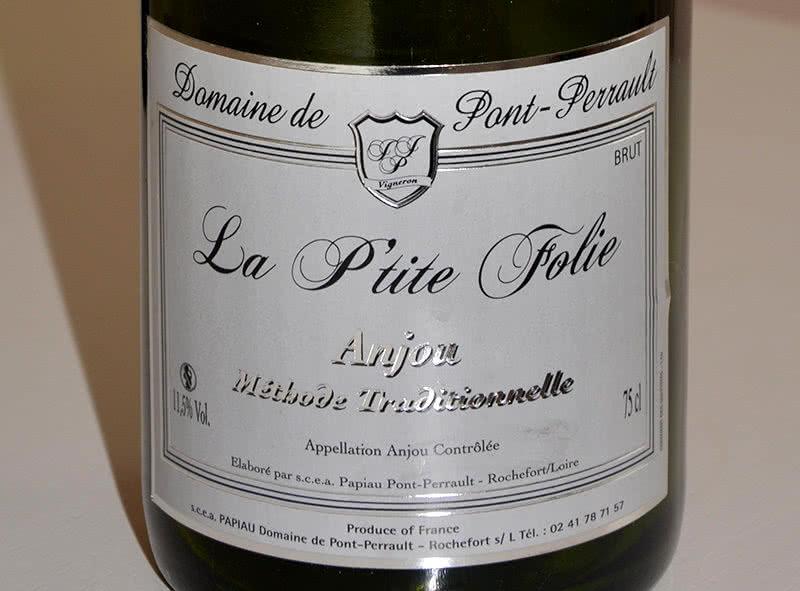 Etiquette viticulture Anjou