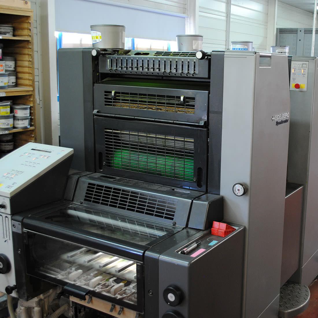 Les Ateliers MZH - machines d'impression