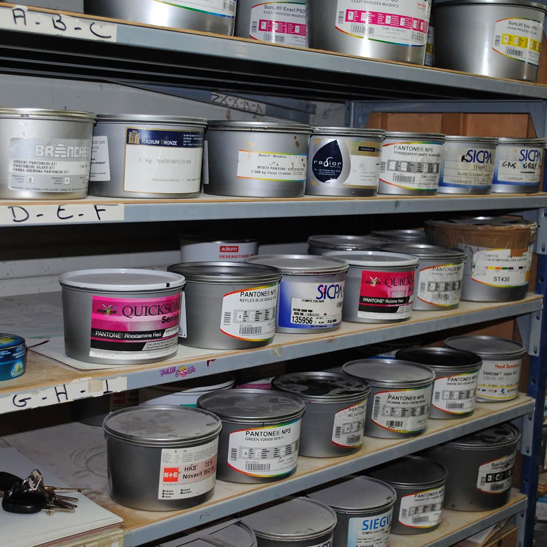 Les Ateliers MZH - pots couleurs