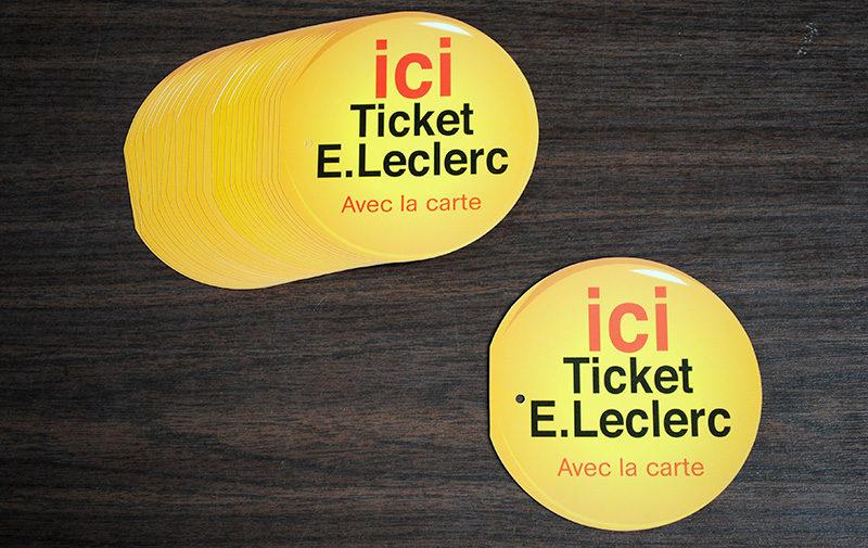 Tickets e-leclerc