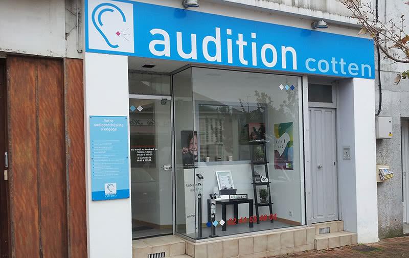 Enseigne Audition Cotten