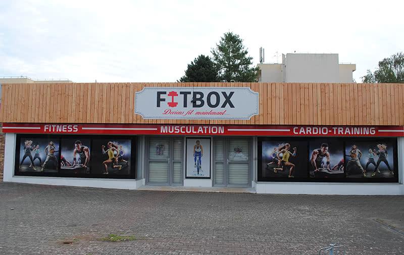 Enseigne Fitbox