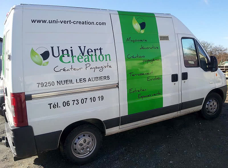 Covering Uni Vert Création